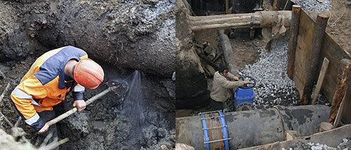 Водовод Пятигорска снова лопнул при закачке воды