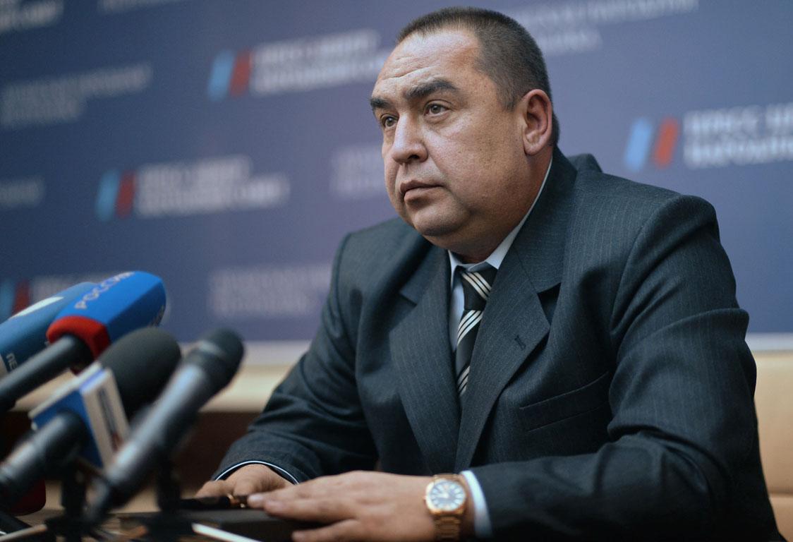 Глава ЛНР Игорь Плотницкий о предотвращённой попытке переворота