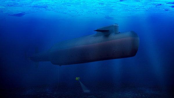 российская подводная лодка англия